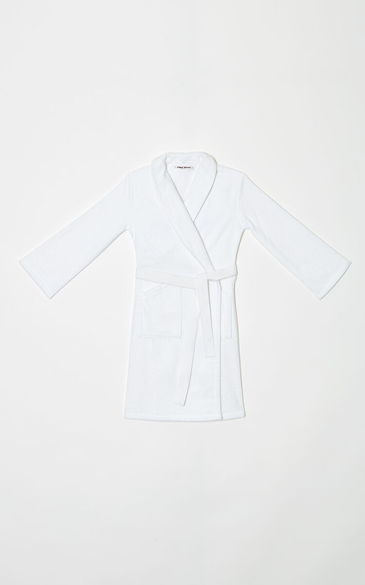 WHITE Tiger Dressing Gown for men KENZO
