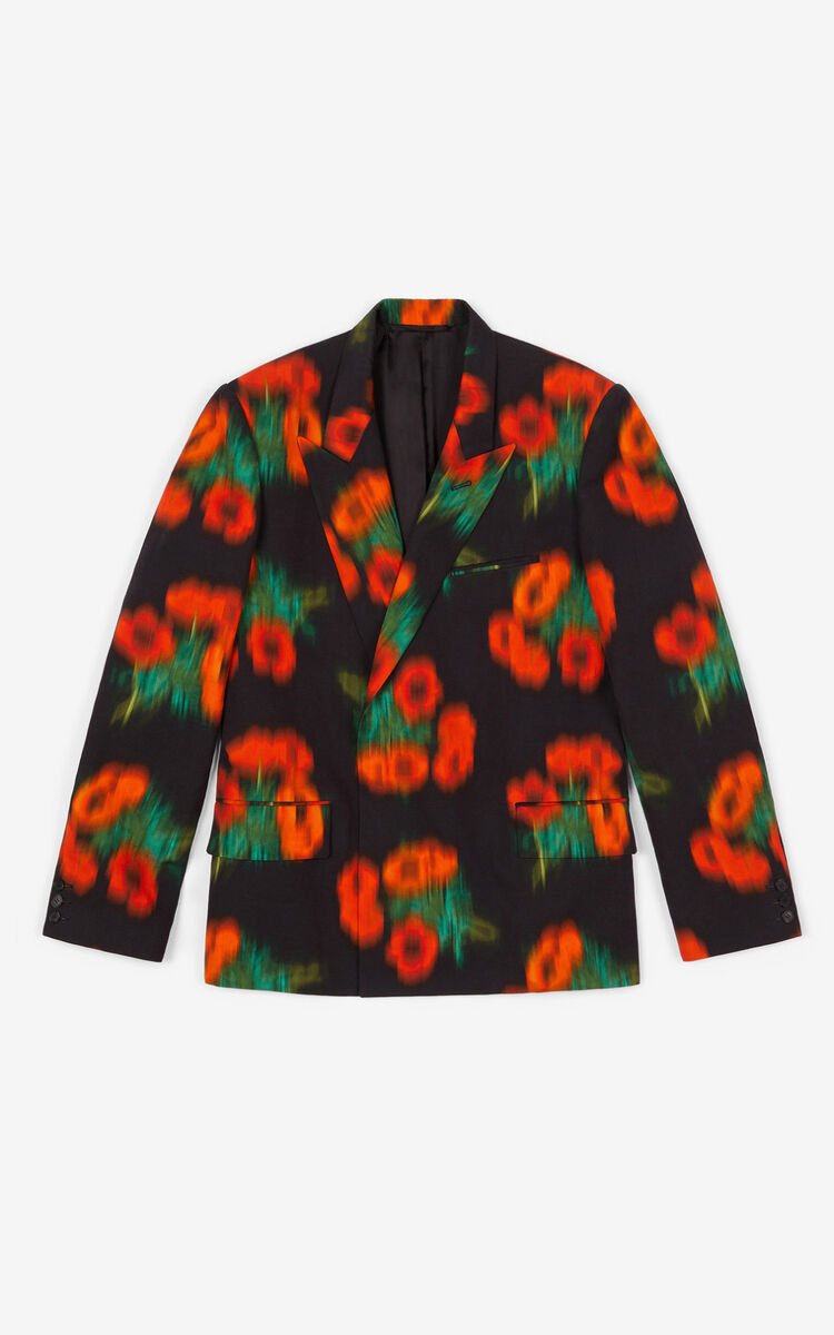 CHERRY Double-breasted 'Coquelicot' jacket for men KENZO