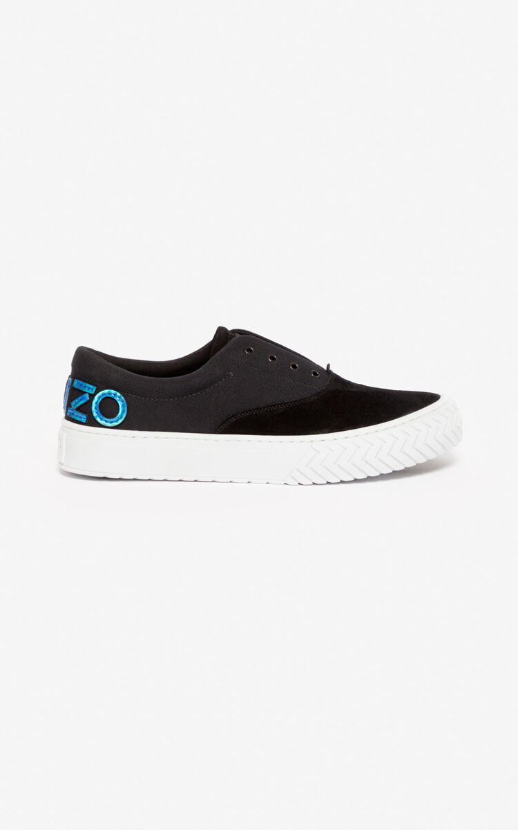 BLACK K-Skate sneakers for men KENZO