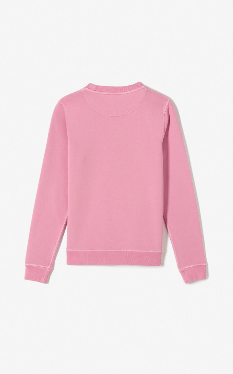 ROSE 'Bleached Tiger ' sweatshirt for women KENZO