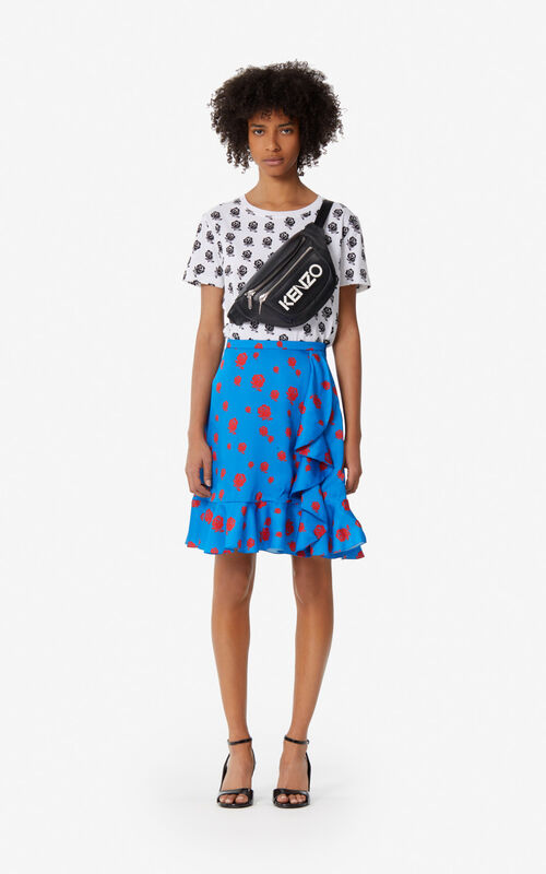 COBALT 'Roses' ruffled skirt for women KENZO