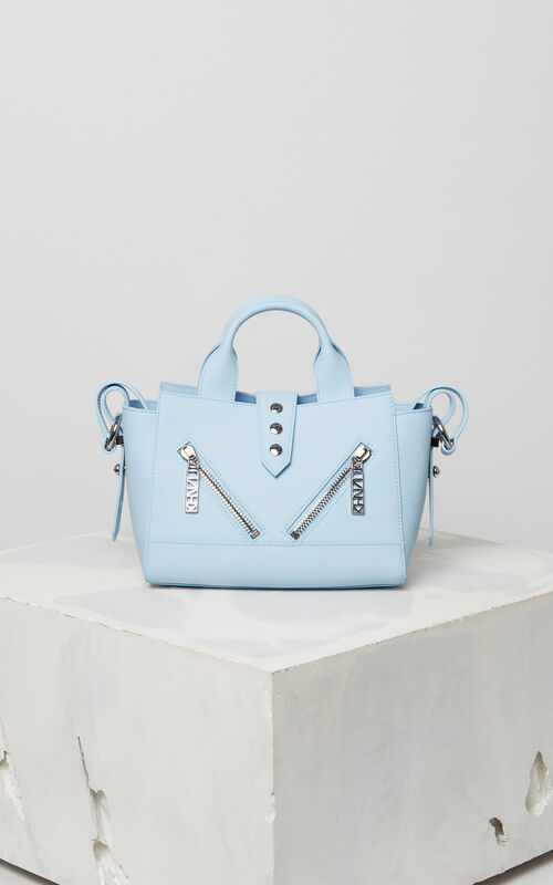 SKY BLUE Mini Kalifornia Gommato leather for unisex KENZO