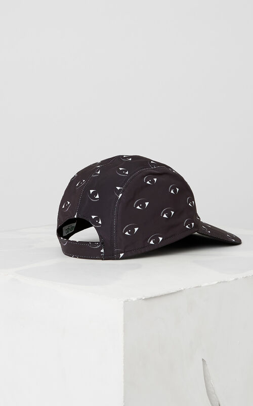 BLACK Multi-Eye Cap for unisex KENZO