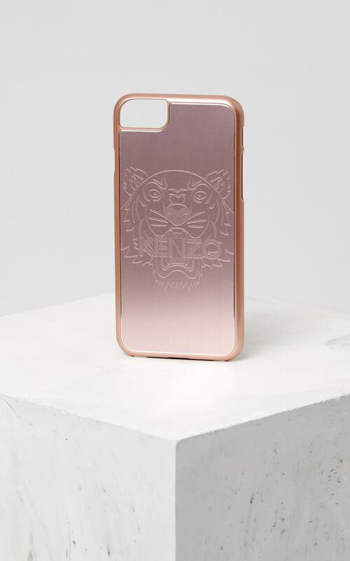 PASTEL PINK Tiger iPhone 7/8 case for unisex KENZO