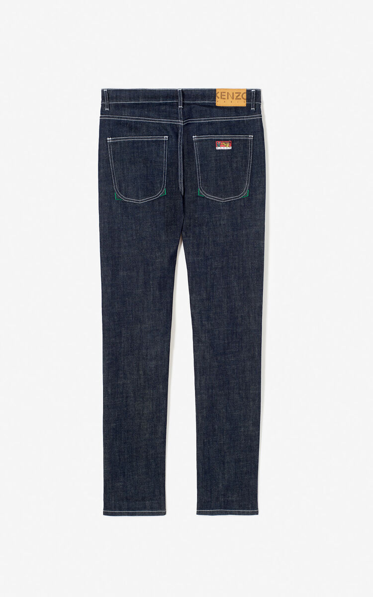 BLACK Skinny jeans for men KENZO