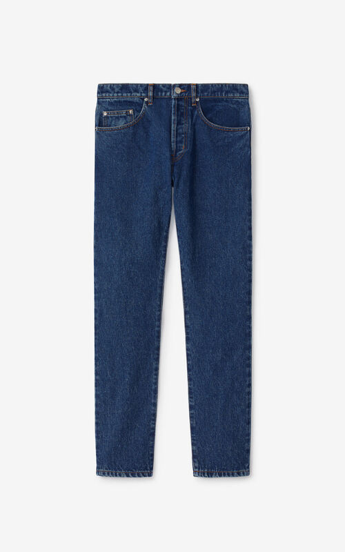 NAVY BLUE Slim-fit jeans for unisex KENZO