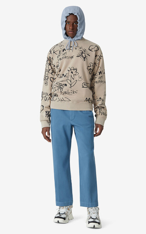 CAMEL Printed sweatshirt for men KENZO