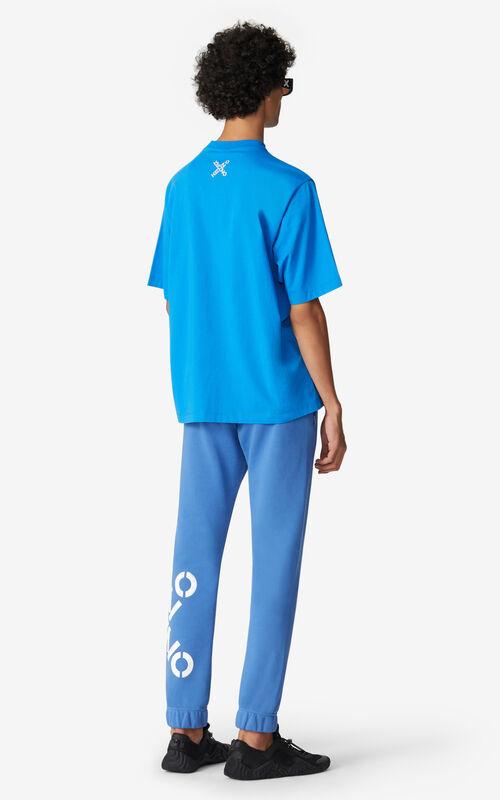 CYAN KENZO Sport 'Big X' T-shirt for men