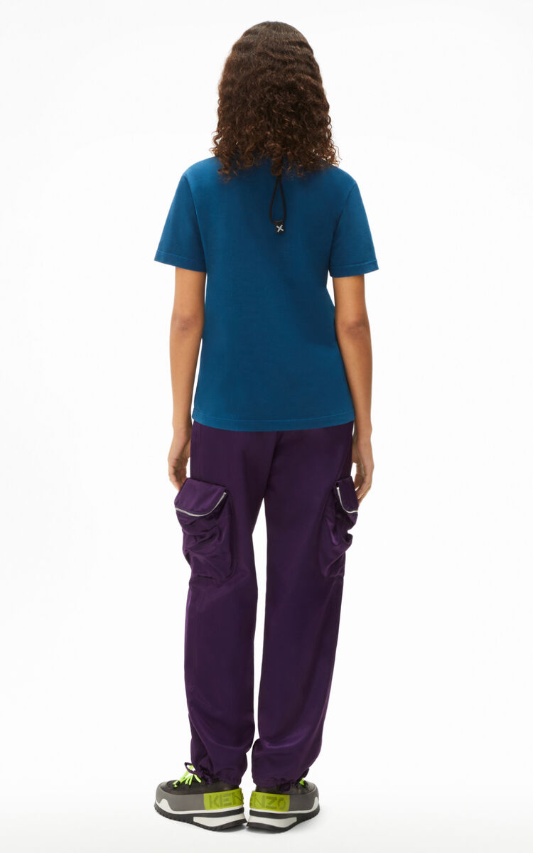 MIDNIGHT BLUE 'KENZO Tribute' loose T-shirt for women
