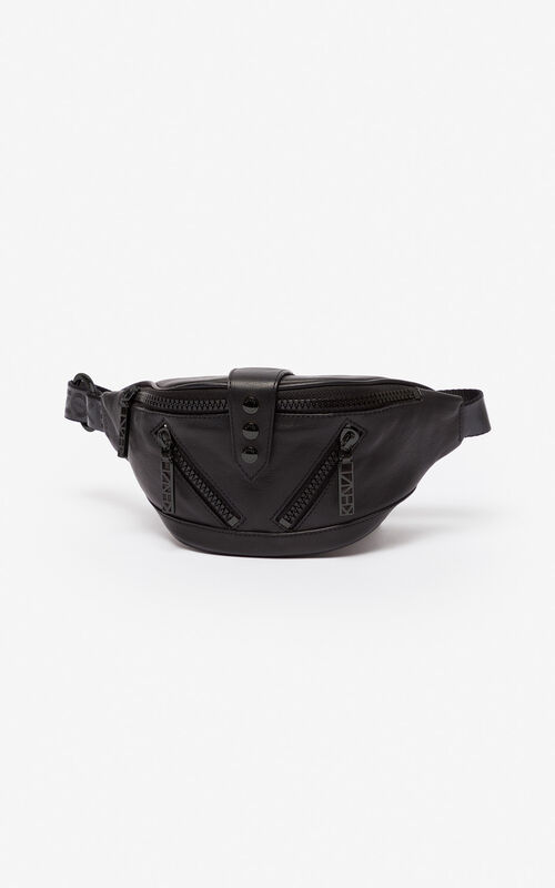 BLACK Kalifornia sports belt-bag for unisex KENZO