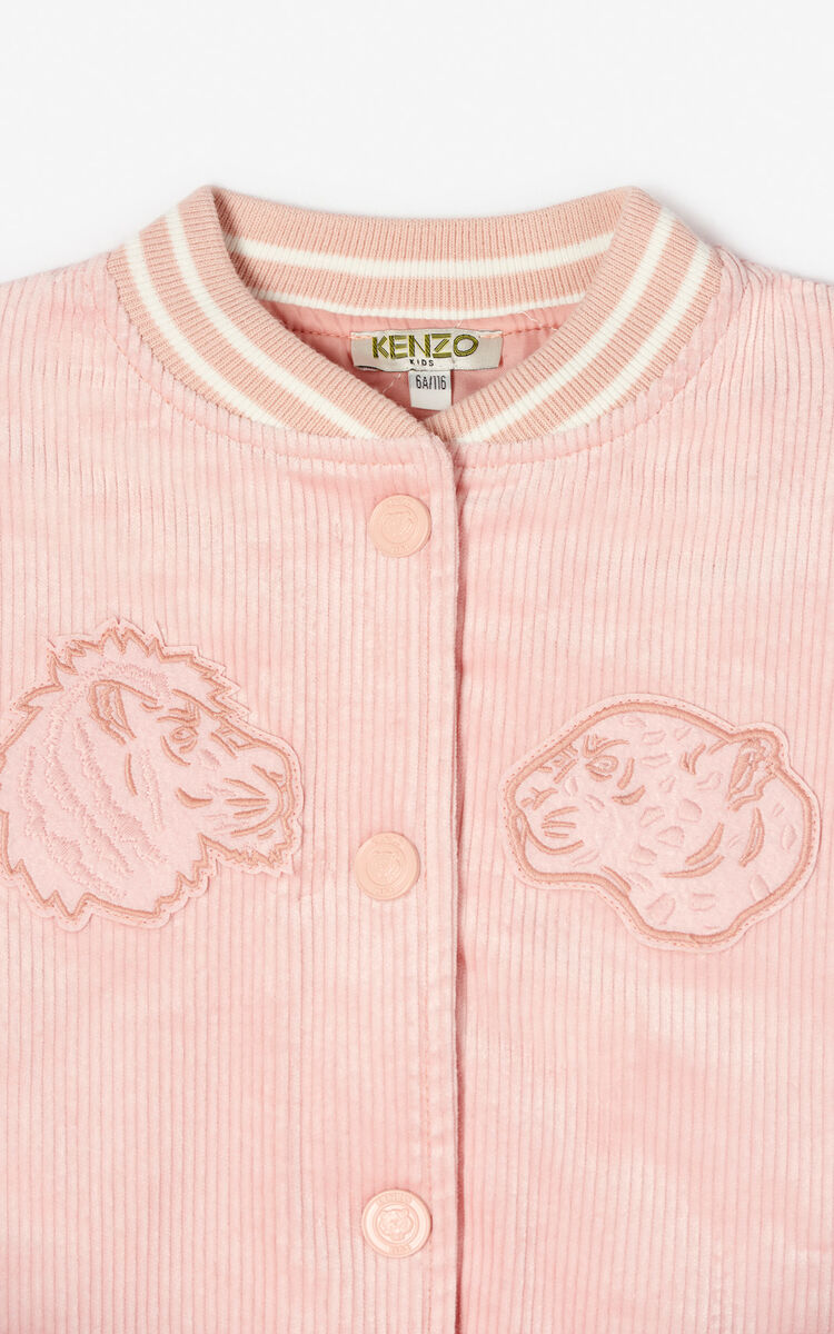 5ea799d9 Velvet Tiger bomber jacket for KIDS Kenzo | Kenzo.com