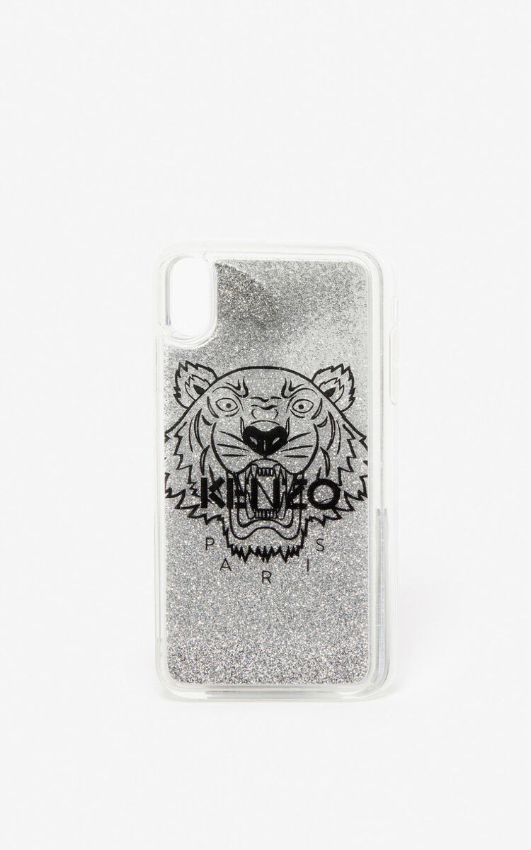 SILVER iPhone XS Max Case for women KENZO