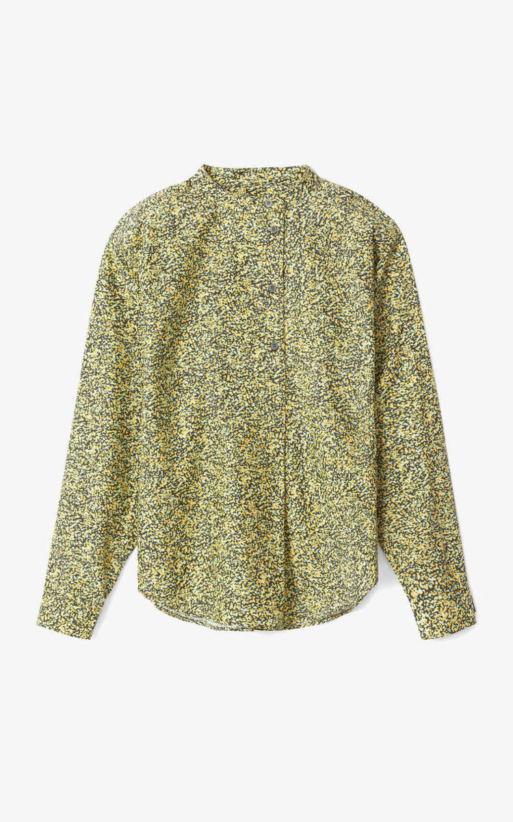 DARK KHAKI Micro Camo' blouse for women KENZO