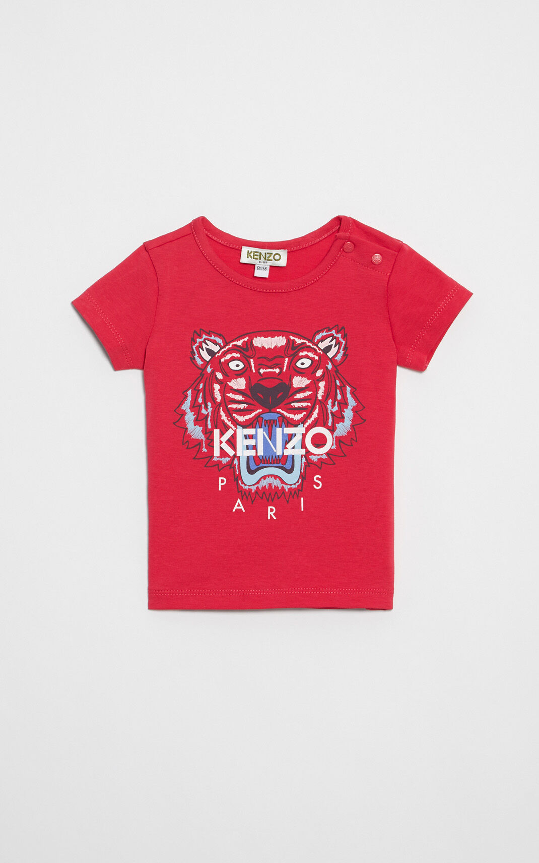 DEEP FUSCHIA Tiger T-shirt for men KENZO