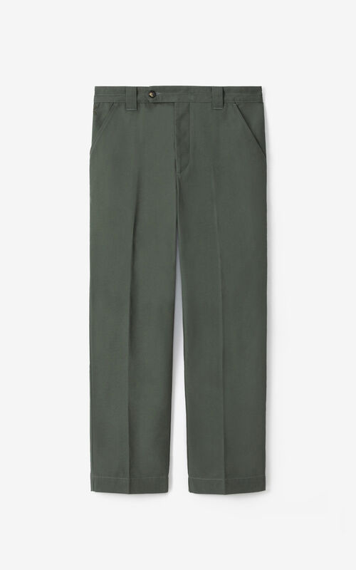 FERN Cropped trousers for unisex KENZO