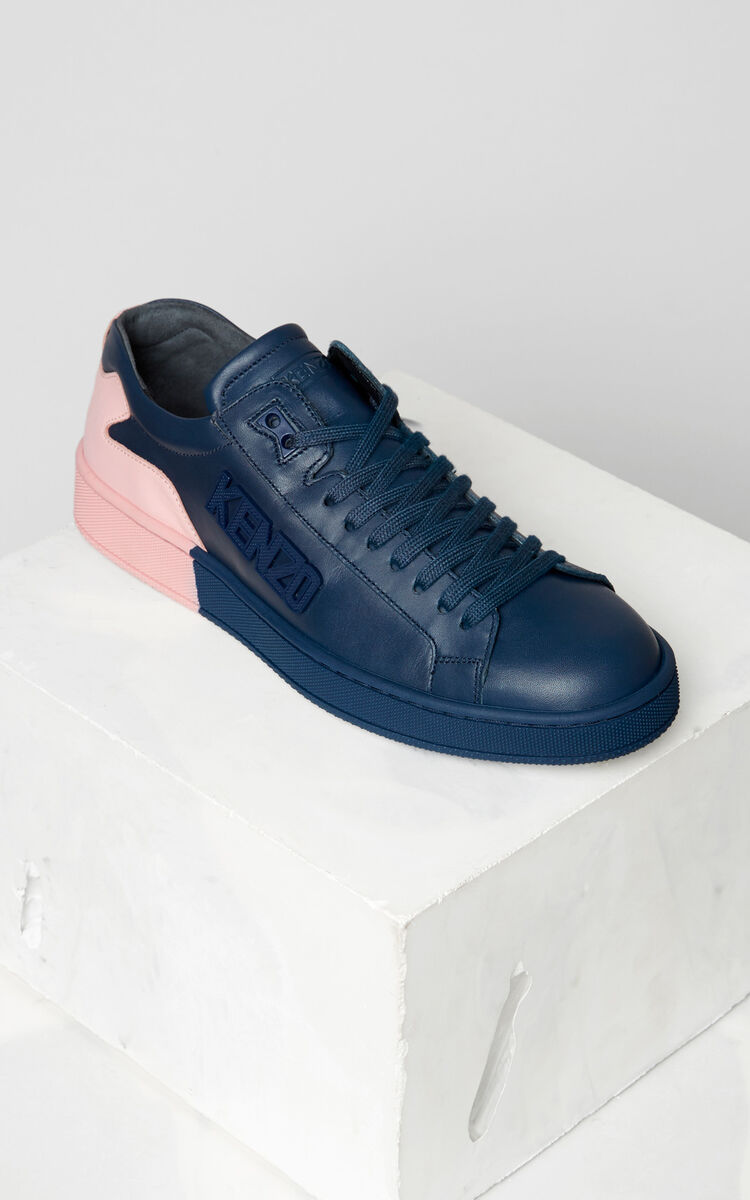NAVY BLUE Tennix Sneakers for unisex KENZO