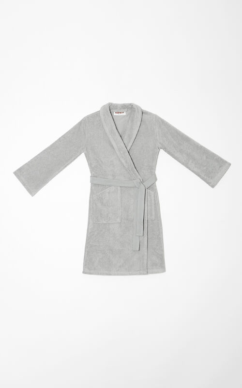 PALE GREY Tiger Dressing Gown KENZO
