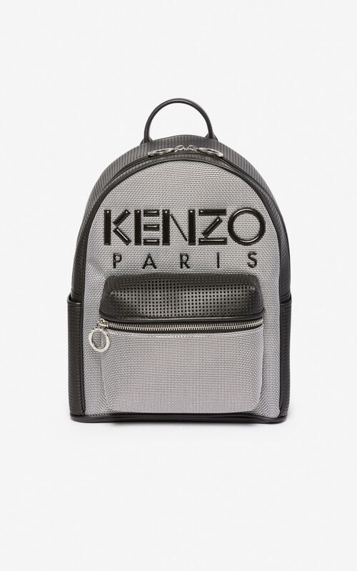 SILVER Kombo backpack for unisex KENZO