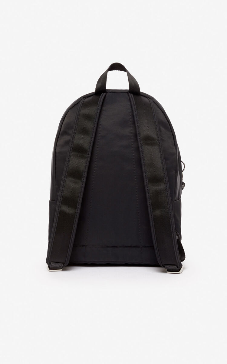 BLACK 'Chinese New Year Capsule' large 'Kung Fu Rat' backpack for men KENZO