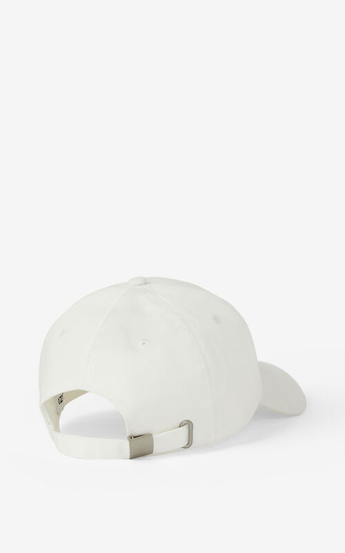 WHITE KENZO K cap for men