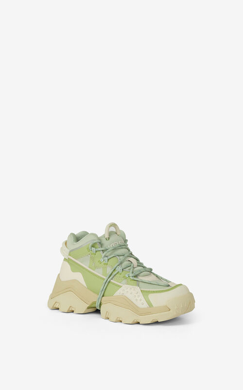 ALMOND GREEN Inka trainers for unisex KENZO