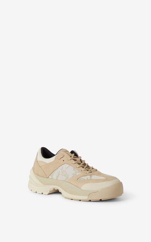 TAUPE KENZO Work sneakers for unisex
