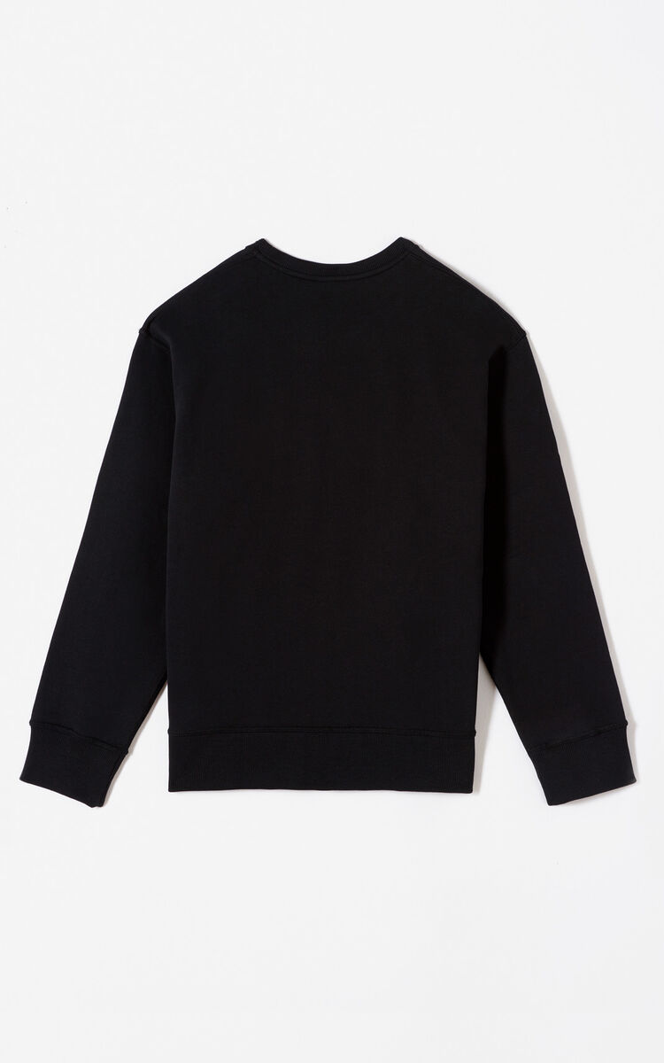 BLACK 'Color by KENZO' sweatshirt for women