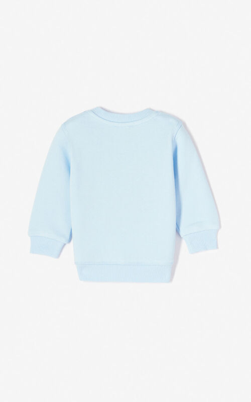 LIGHT BLUE Tiger sweatshirt for women KENZO