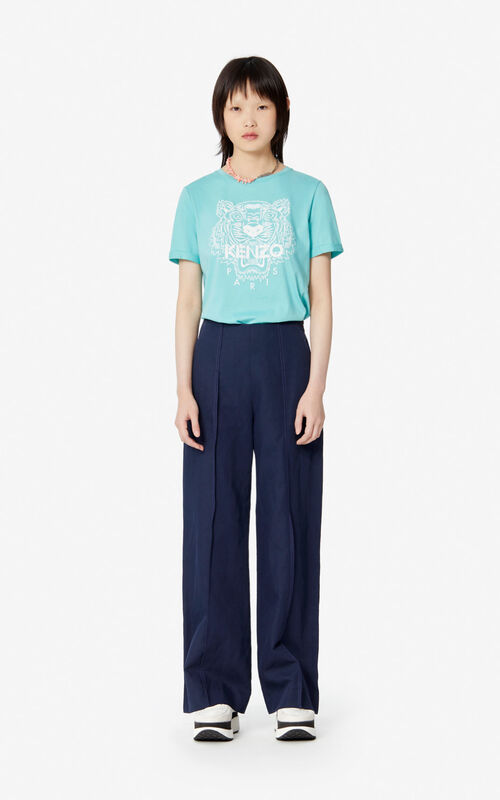 AQUA Iridescent Tiger t-shirt for women KENZO