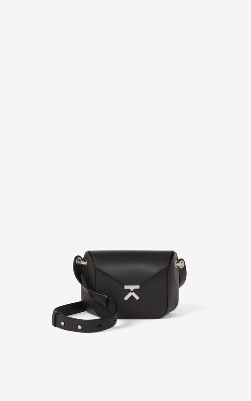 BLACK KENZO K small leather bag for unisex