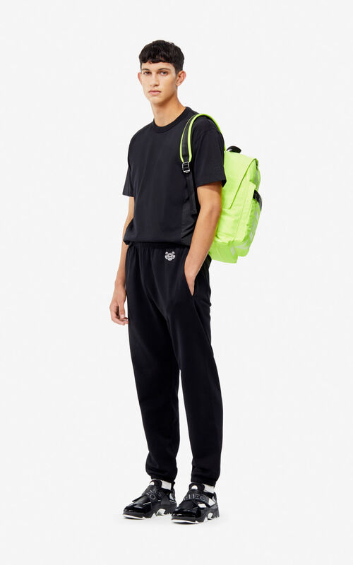 BLACK Tiger jogging trousers for men KENZO