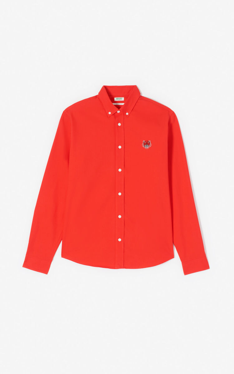 MEDIUM RED Tiger shirt for women KENZO