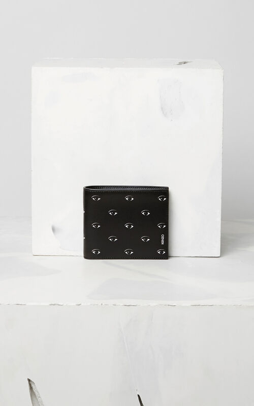 BLACK Multi Eye Wallet  for men KENZO