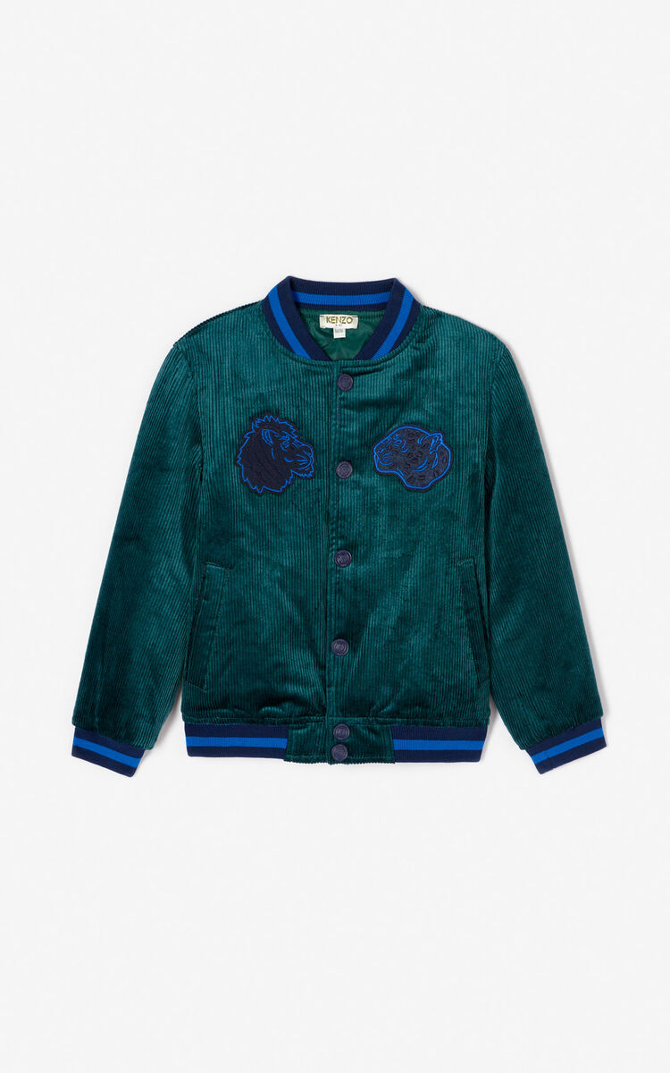 5ffe9553 Crazy Jungle' bomber jacket for KIDS Kenzo | Kenzo.com