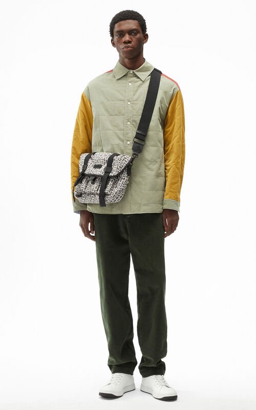 LIME TEA Reversible quilted shirt for men KENZO