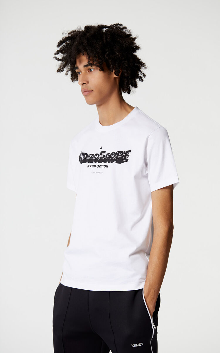 WHITE Kenzoscope' t-shirt for men