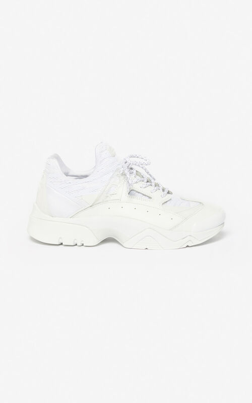 WHITE Sonic trainers for unisex KENZO