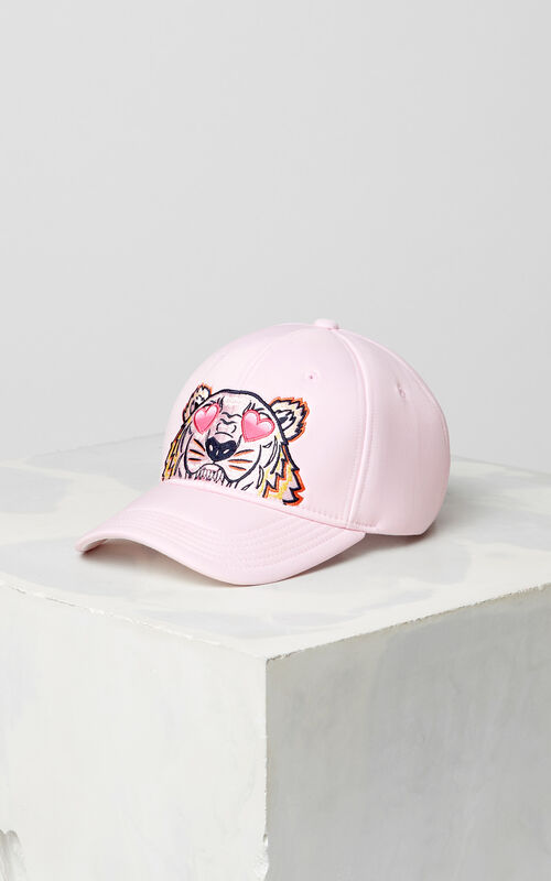 FLAMINGO PINK 'Valentine's Day Capsule' Tiger cap for unisex KENZO