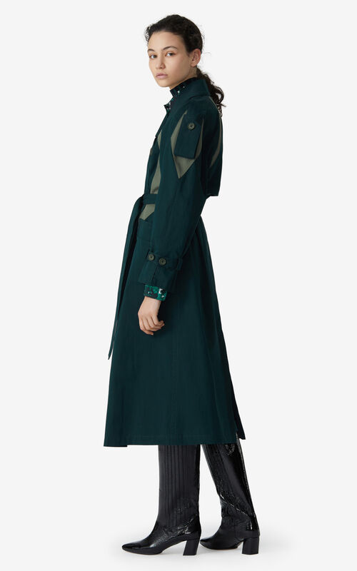 PINE Trench coat for women KENZO