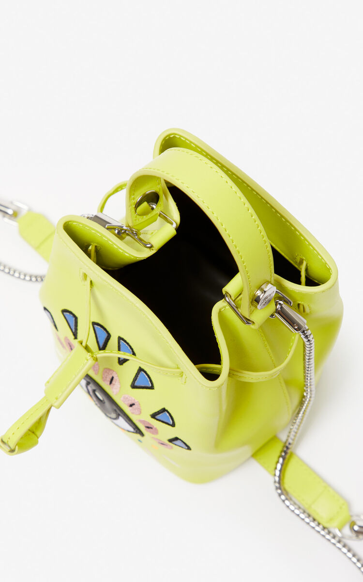 LEMON Eye leather bucket bag for women KENZO