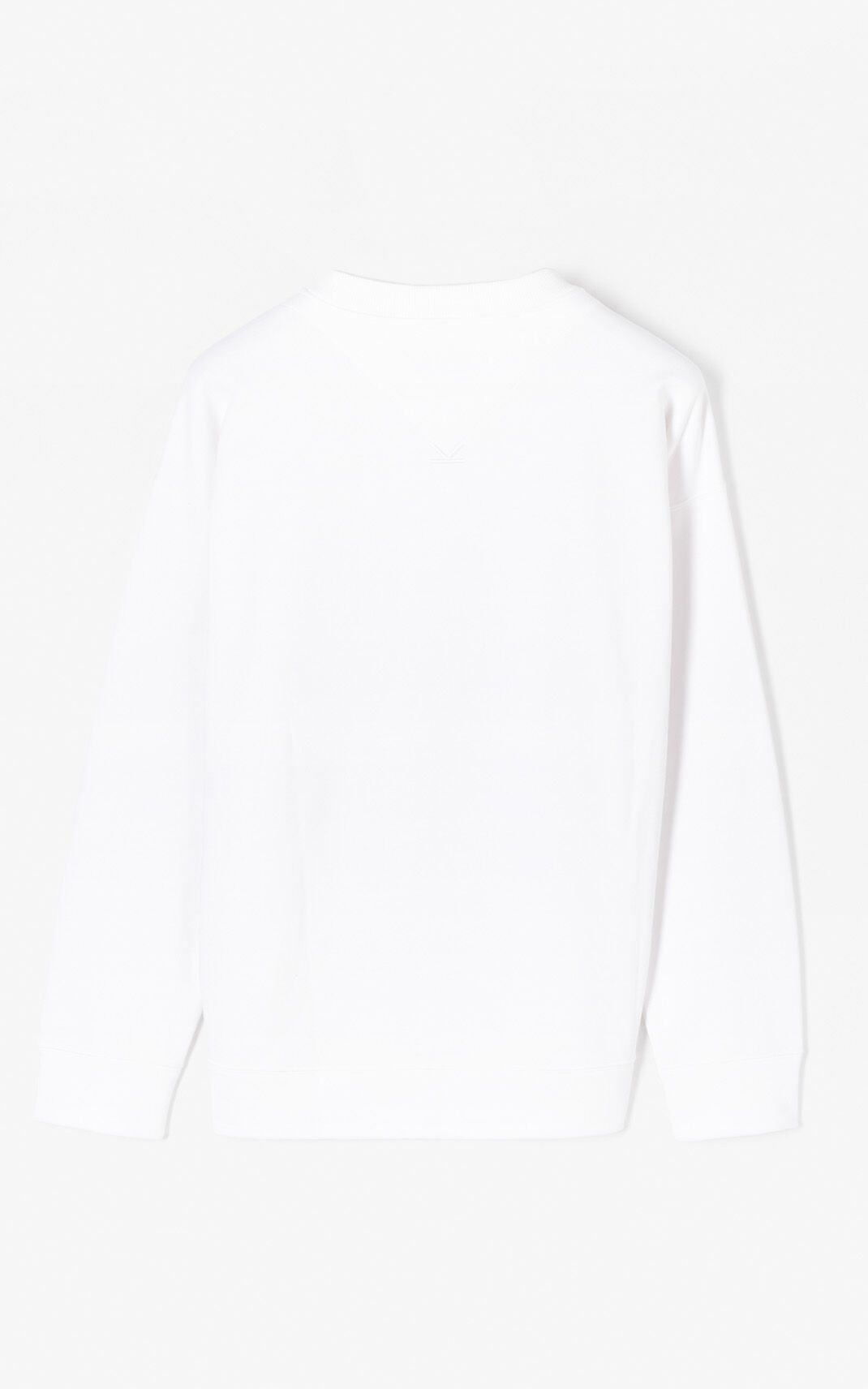 WHITE 'Animals' Sweatshirt for men KENZO