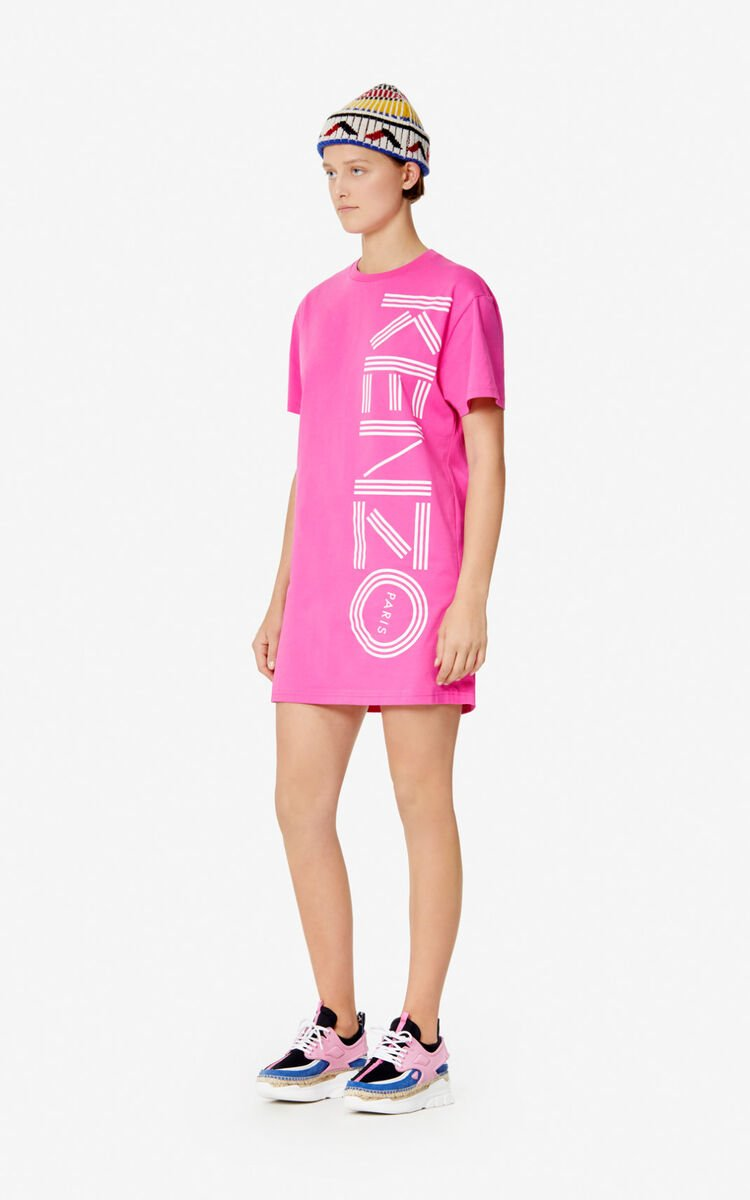 BEGONIA Kenzo Logo T-shirt dress for women