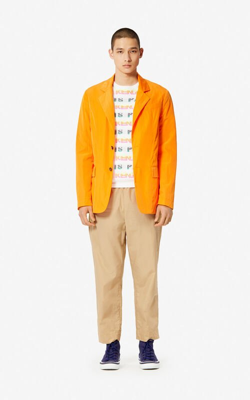 MEDIUM ORANGE Lightweight jacket for men KENZO