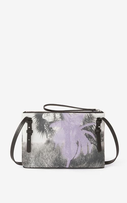 WISTERIA 'High Summer Capsule' crossbody gusset bag. for unisex KENZO