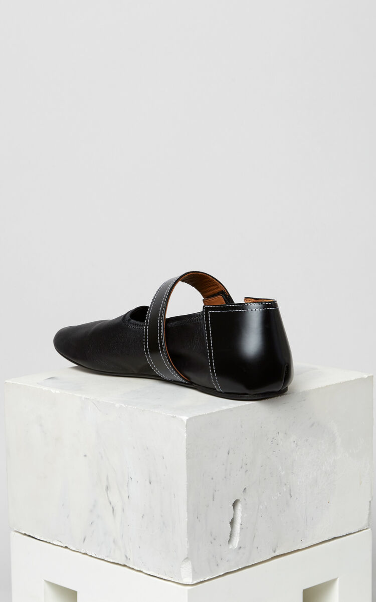 BLACK Iza Ballerinas for men KENZO