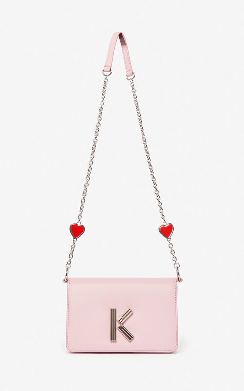 ... PASTEL PINK  I ❤ KENZO Capsule  K-Bag Chainy bag for unisex.   51efbe356c8