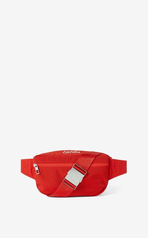 MEDIUM RED 'Chinese New Year Capsule' Tiger belt bag for unisex KENZO