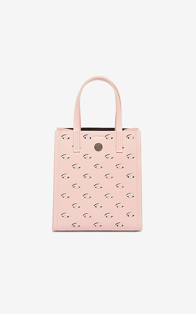 FADED PINK Small Blink multi-Eye tote for unisex KENZO