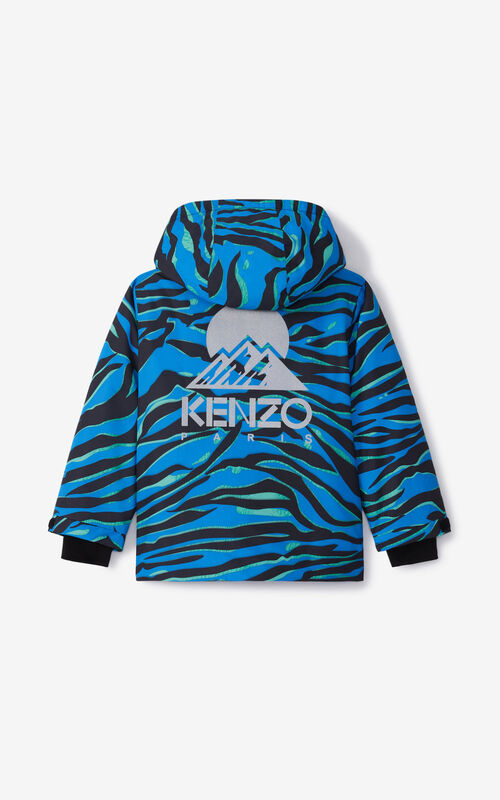 FLAMINGO PINK KENZO 'AKTION' ski jacket for unisex