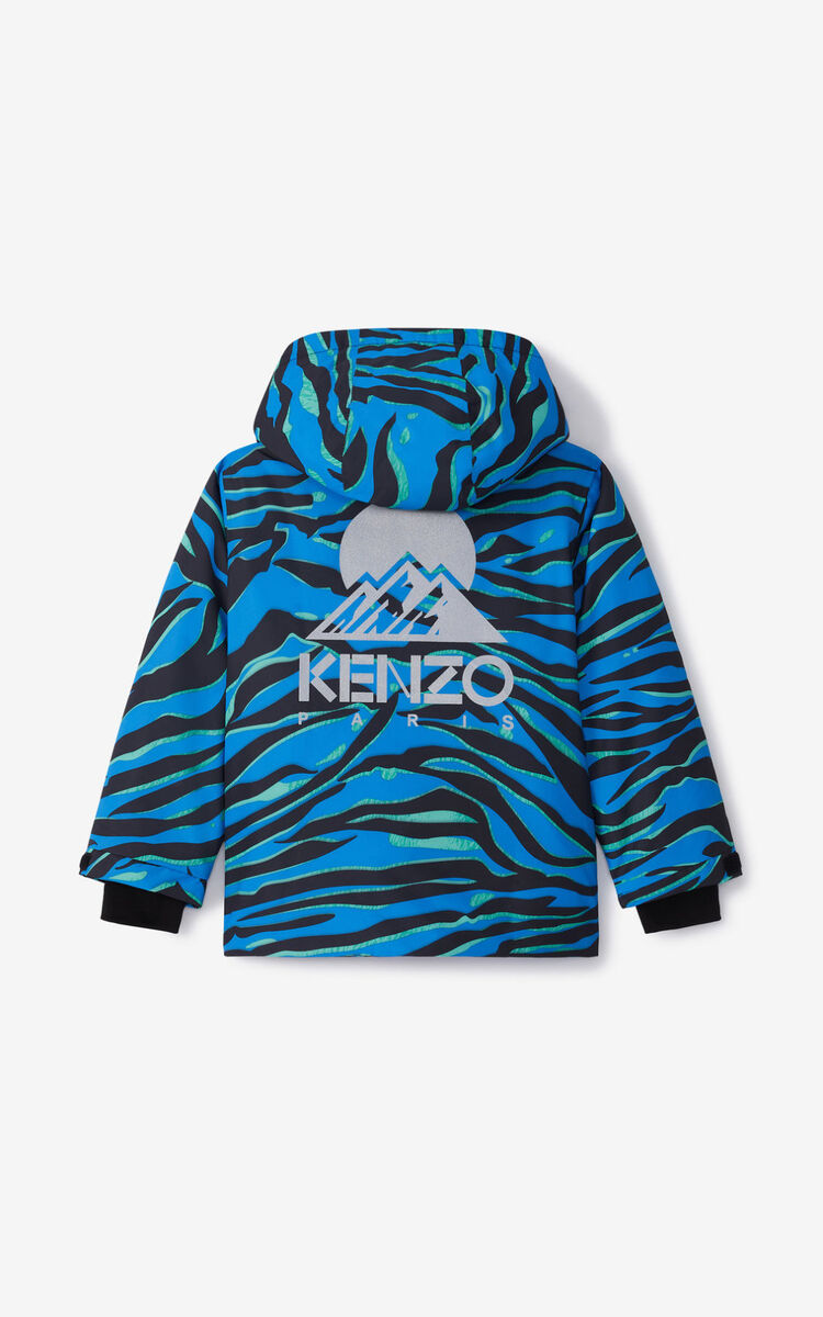 FLAMINGO PINK KENZO 'AKTION' ski jacket for women